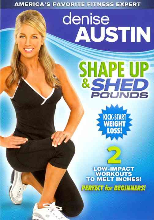 DENISE AUSTIN:SHAPE UP AND SHED POUND BY AUSTIN,DENISE (DVD)